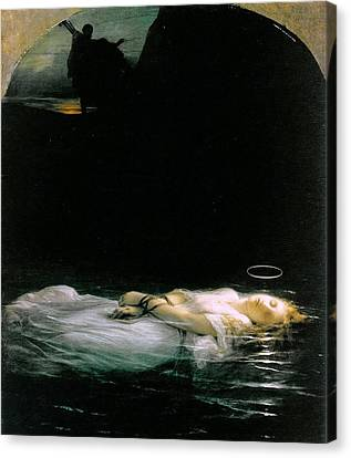 Martyr Canvas Print - The Young Martyr  by MotionAge Designs