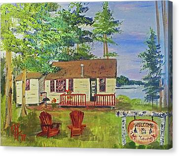 The Young's Camp Canvas Print