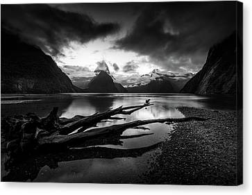 The Zen Of The Fiords Canvas Print