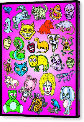 The Zoo Canvas Print by Christopher Capozzi
