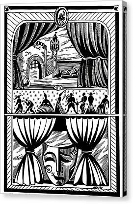 Theater Canvas Print by Inga Vereshchagina