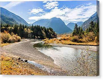 Thelwood Creek Fall Canvas Print