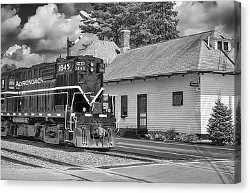 Canvas Print featuring the photograph Thendara Station by Guy Whiteley