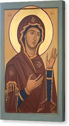 Theotokos Canvas Print by Phillip Schwartz