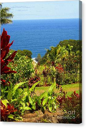 There Is A Paradise - Maui Hawaii Canvas Print by Glenn McCarthy Art and Photography