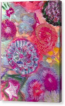 There Is A Whole Lot To See At The Bottom Of The Sea Canvas Print by Anne-Elizabeth Whiteway