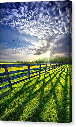 There Is More That Unites Than Divides Canvas Print by Phil Koch