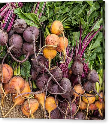 These Can't Be Beet Canvas Print by Peter Tellone