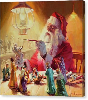 Wise Men Canvas Print - These Gifts Are Better Than Toys by Steve Henderson