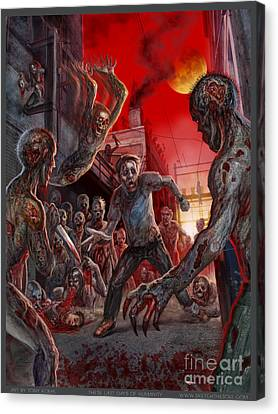 These Last Days Of Humanity  Canvas Print by Tony Koehl