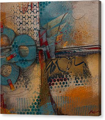 They Sipped Strong Coffee Canvas Print