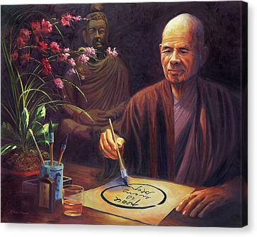 Thich Nhat Hanh Canvas Print