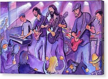 Thin Air At The Barkley Ballroom In Frisco, Colorado Canvas Print by David Sockrider