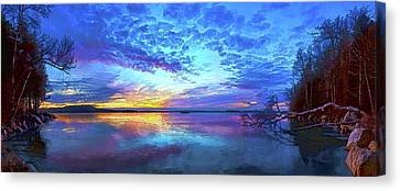 Abeautifulsky Canvas Print - Thin Ice 2 by ABeautifulSky Photography by Bill Caldwell
