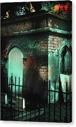 Things That Go Bump In The Night Canvas Print by Michael Eingle