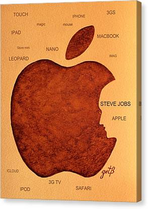 Think Different Steve Jobs 2 Canvas Print