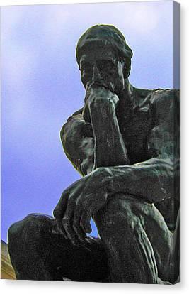 Thinker 2 Canvas Print