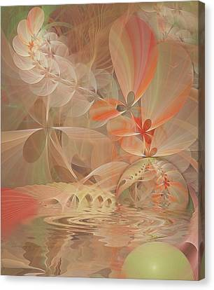 Thinking Of You Canvas Print by Gayle Odsather