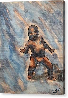 Third World Baby Meme Reddit Canvas Print by M Zimmerman