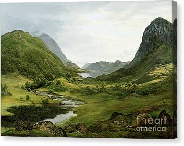 Thirlmere Canvas Print by John Glover
