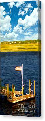 This American Sound Canvas Print by Laura Brightwood