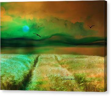This Golden Earth Canvas Print