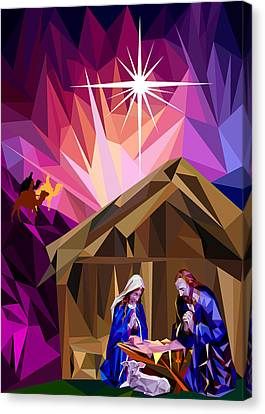 This Holy Night Canvas Print