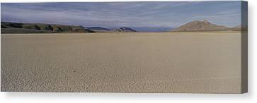 This Is A Dry Lake Pattern Canvas Print by Panoramic Images