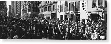 This Is A Ticker Tape Parade Canvas Print by Panoramic Images