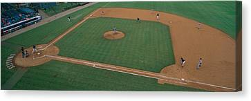 Minor League Canvas Print - This Is Bill Meyer Stadium. There by Panoramic Images