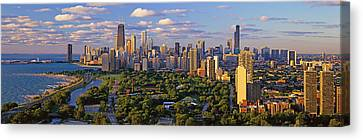 This Is Lincoln Park With Diversey Canvas Print by Panoramic Images