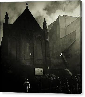 This Is My Church,goodison Park Canvas Print by Janan Yakula