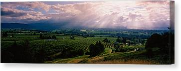 This Is Near The Hood River. It Canvas Print