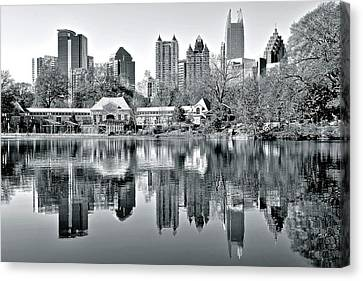 This Is The Atlanta Grayscale You Want Canvas Print
