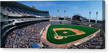 This Is The New Comiskey Park Stadium Canvas Print by Panoramic Images