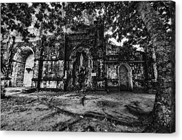 This Is The Philippines No.10 - San Juan Nepomuceno Church Canvas Print by Paul W Sharpe Aka Wizard of Wonders