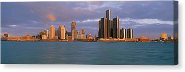 This Is The Skyline And Renaissance Canvas Print by Panoramic Images