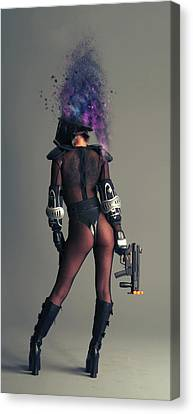 This Is War Canvas Print by Nichola Denny