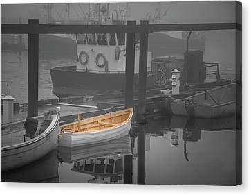 This Little Boat Canvas Print by Peter Scott