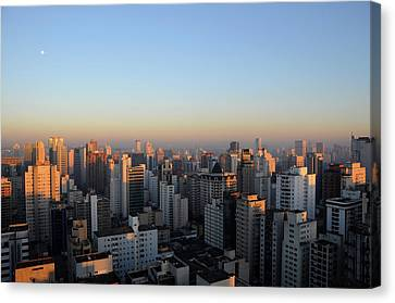 This Morning's First Lights Canvas Print by Alceu Baptistão