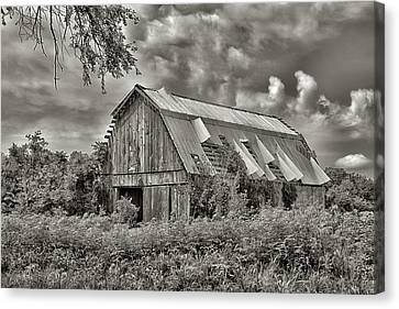 This Old Barn Canvas Print by Don Spenner