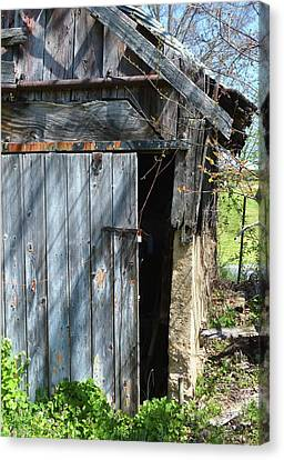 This Old Barn Door Canvas Print