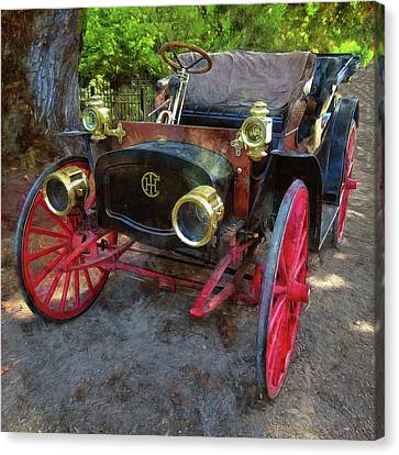 Canvas Print featuring the photograph This Old Car by Thom Zehrfeld