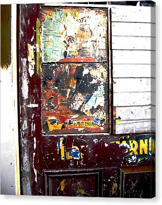 This Old Door Has Got Enough Canvas Print by Don Struke