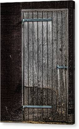 This Old Door Canvas Print by Odd Jeppesen