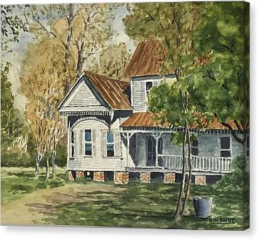 This Old House Canvas Print by Don Bosley
