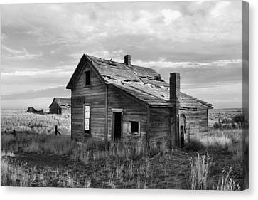 This Old House Canvas Print by Jim Walls PhotoArtist