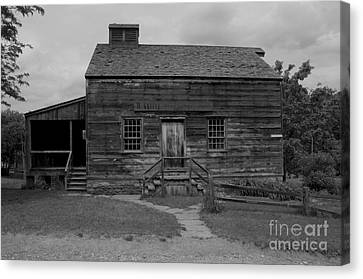 This Old House Canvas Print by Kathleen Struckle