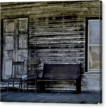 This Old Porch Canvas Print