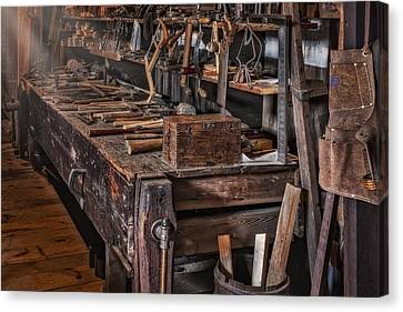 This Old Workshop Canvas Print by Susan Candelario